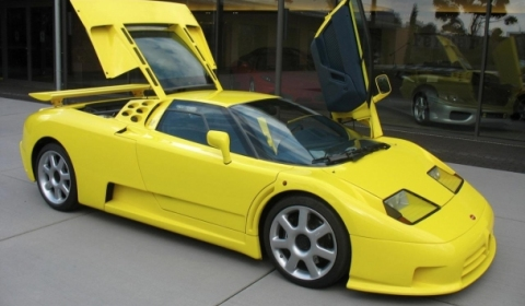 For Sale Michael Schumacher's Bugatti EB110