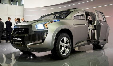 Marussia F2 SUV Makes World Debut in Moscow