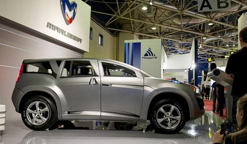 Marussia F2 SUV Makes World Debut in Moscow 02