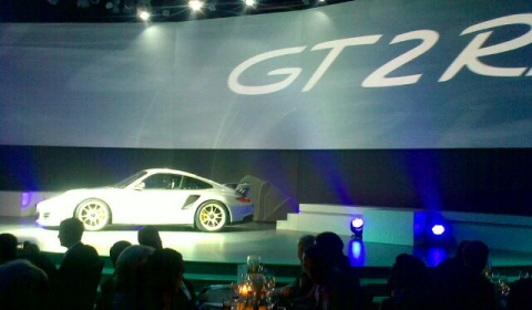 Porsche 997.2 GT2 RS Pre-launched in Leipzig