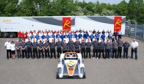 Radical Celebrates 1,000th Car with Electric RZero Racer