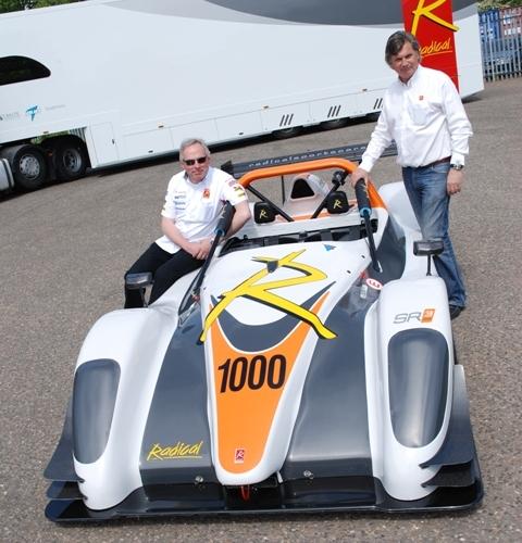 Radical Celebrates 1,000th Car with Electric RZero Racer 01