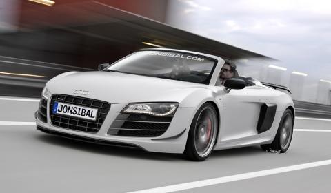 Rendering Audi R8 GT Spyder