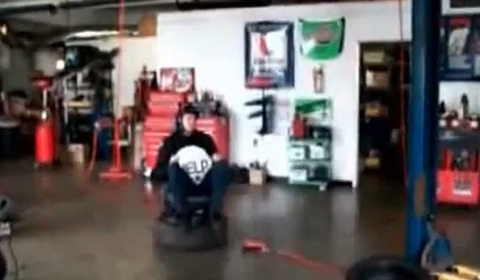 Video Airbag Ejection Seat Testing