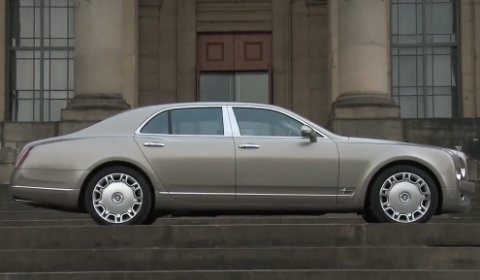 Video Bentley Mulsanne First Driving Footage