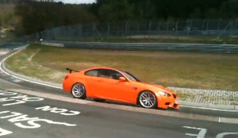 Video BMW M3 GTS on the Nürburgring