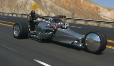 Video Frogman Tim Cotterill Rocket II 2 Trike