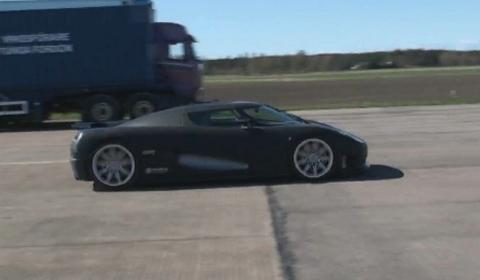 Video Koenigsegg Evo Soundtrack