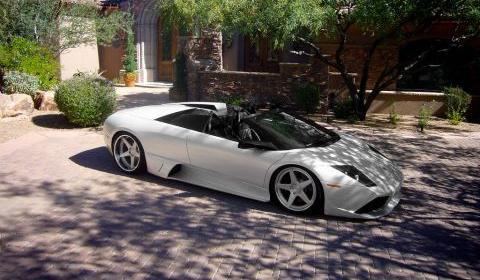 Lamborghini Murcielago Lp640 Roadster On Adv1 Wheels Gtspirit