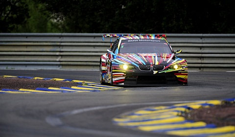 BMW Art Car at Le Mans