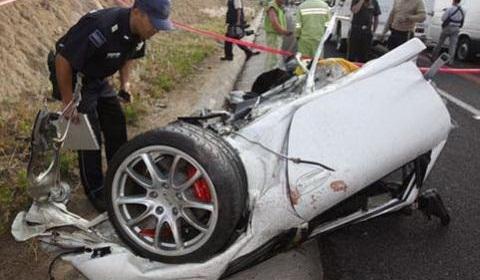 Mexican Porsche GT3 Crash