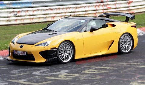 Lexus LFA Nürburgring At The 'Ring!