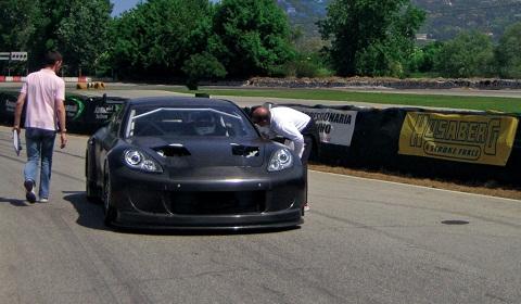 Panamera Race Car