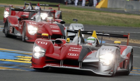 Audi 1-2-3 Victory at 24-Hours