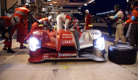 Audi 1-2-3 Victory at 24-Hours 01