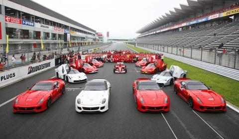 Ferrari Festival of Japan