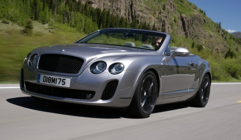 Gallery & Video: Bentley Continental Supersports Convertible