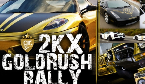 GoldRush 2KX rally start
