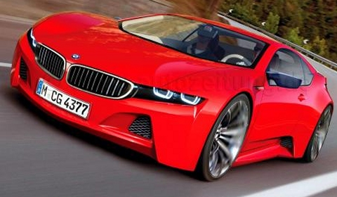 M8 New Hybrid Sports Car From BMW