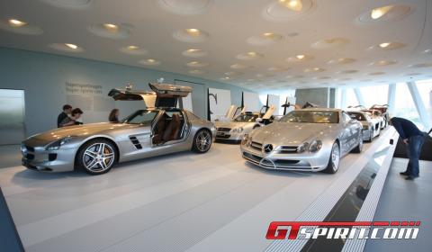 Mercedes Museum Visit 01