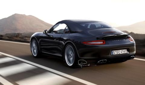 rendering 2012 porsche 911 cabriolet