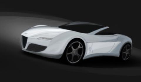 Rendering Alfa Romeo 6C 3200 Cento