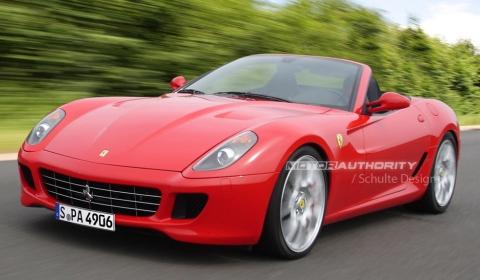 Rendering Ferrari 599 Spyder