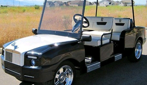 Rolls-Royce Phantom Golf Cart