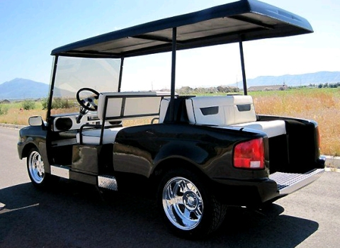 Rolls-Royce Phantom Golf Cart 01