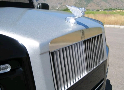 Rolls-Royce Phantom Golf Cart 02