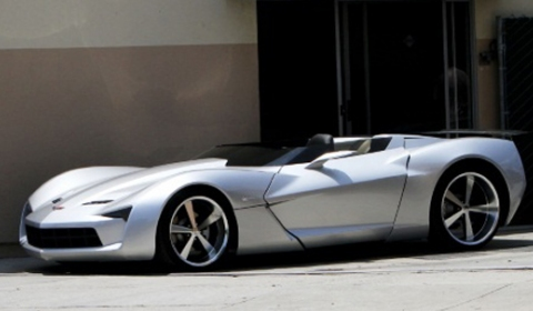 Roofless Corvette Stingray Concept
