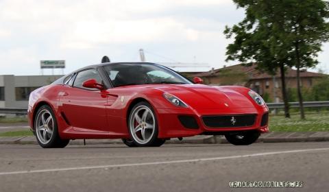 Spyshots Ferrari 599 Convertible Caught Testing