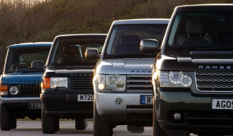 Video 40 Years of Range Rover Cars