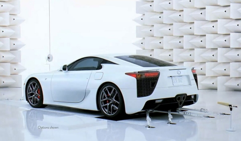 Video Lexus LFA - Pursuit of the Perfect Pitch Commercial