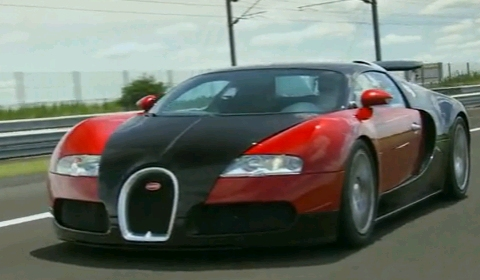 Video Making of the Bugatti Veyron Supercar