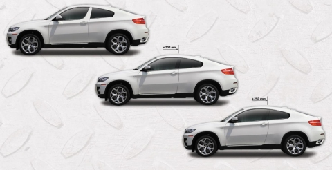 ArmorTech BMW X6 Coupe - Two-door Conversion 01