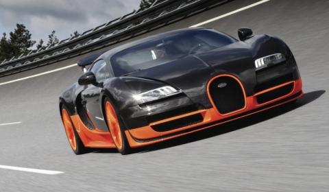Official Bugatti Veyron Super Sport