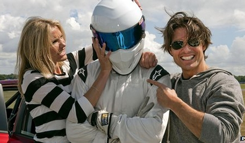 Cameron Diaz and Tom Cruise Tried to Unmask The Stig
