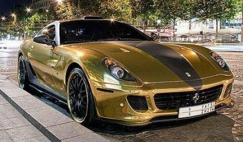 Ferrari 599 Gold