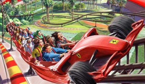 Ferrari Theme Park Reveals 20 Attractions