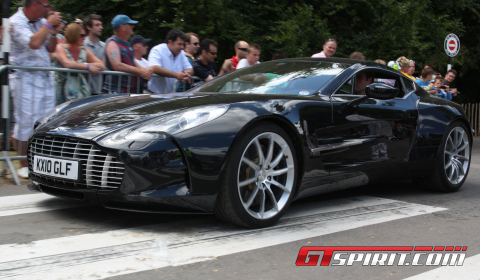 Goodwood 2010 Exclusive Close-up Aston Martin One-77