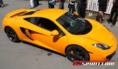 Goodwood 2010 World Debut of McLaren MP4-12C