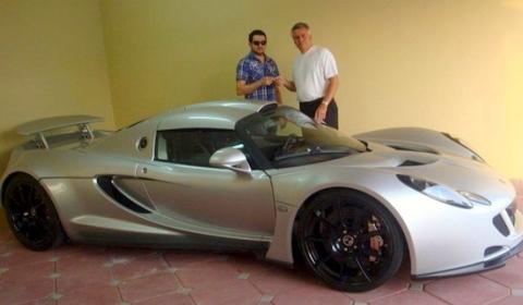 Hareton Akob Receives Hennessey Venom GT in Dubai
