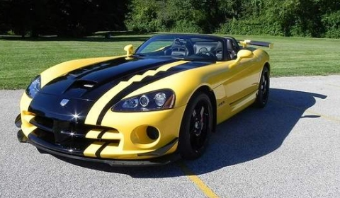 Limited Dodge Viper SRT10 Convertible ACR Woodhouse