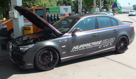 M5Board Drives G-Power BMW M5 Hurricane RR