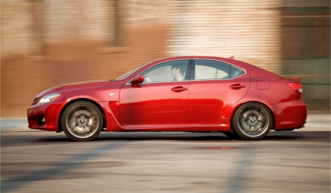 Official 2011 Lexus IS-F 01