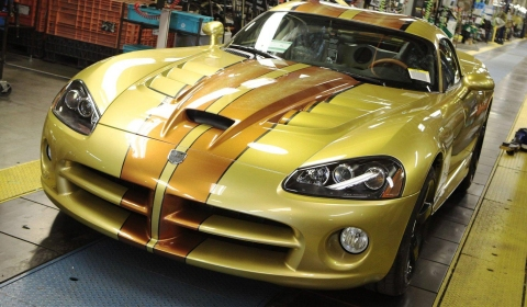 Production Dodge Viper Comes To an End