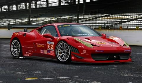 Rendering Ferrari 458 GT Racer by Jonsibal