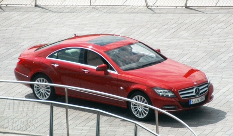 Spyshots 2011 Mercedes-Benz CLS