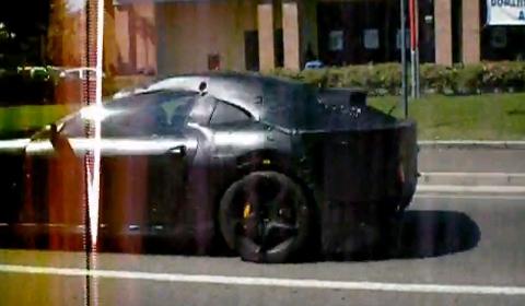 Spyshots Mysterious Ferrari 458 Italia Test Mule